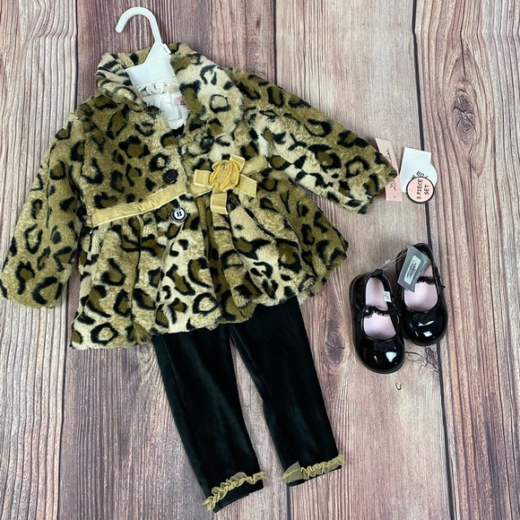 Baby Toddler girl 4 piece outfit